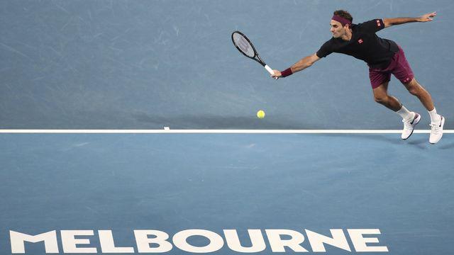 Roger Federer: l'Open d'Australie 2020 est fini pour lui. Malgré tout, il espère revenir en 2021. [Dita Alkangara - AP]