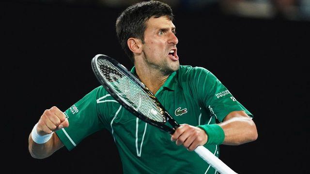 Novak Djokovic: en mission... [Michael Dodge - AP]