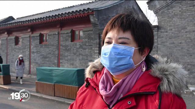 Le coronavirus a pratiquement paralysé la Chine. [RTS]