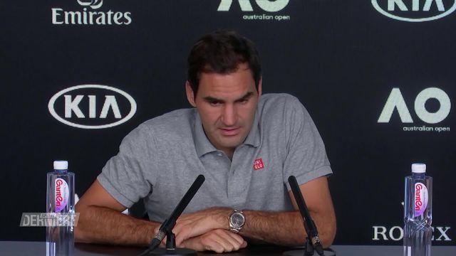 Open d'Australie: défaite de Federer en demi-finale [RTS]