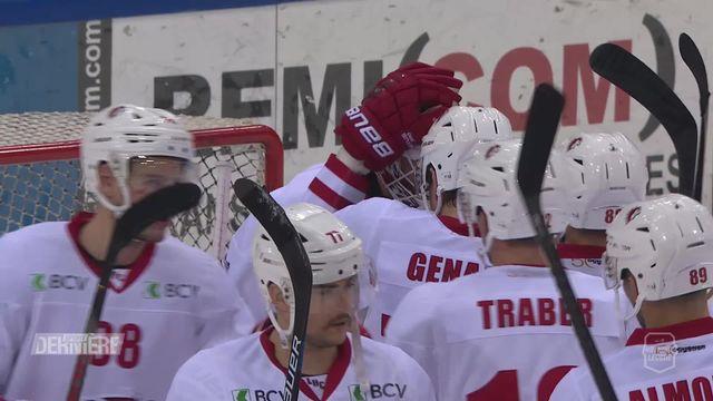 National League, 42e journée, grand format: Genève - Lausanne (0-3) [RTS]