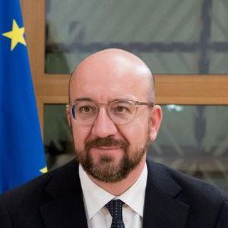 Les présidents de la Commission européenne et du Conseil européen Ursula von der Leyen et Charles Michel, en compagnie du négociateur européen Charles Michel. [Ursula von der Leyen sur Twitter]