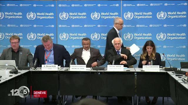 Coronavirus: l'OMS a déclaré l'urgence sanitaire internationale alors que les cas de contamination progressent dans le monde. [RTS]