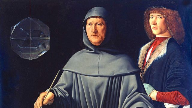 Portrait de Luca Pacioli par Jacopo de' Barbari, Musée National de Capodimonte