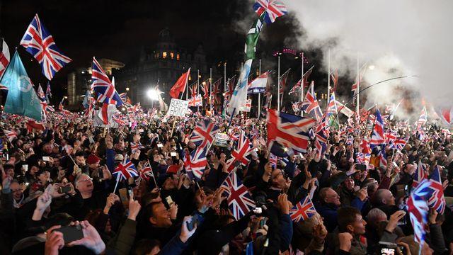 C'est officiel, le Royaume-Uni a quitté l'Union européenne. [Daniel Leal-Oliva - AFP]