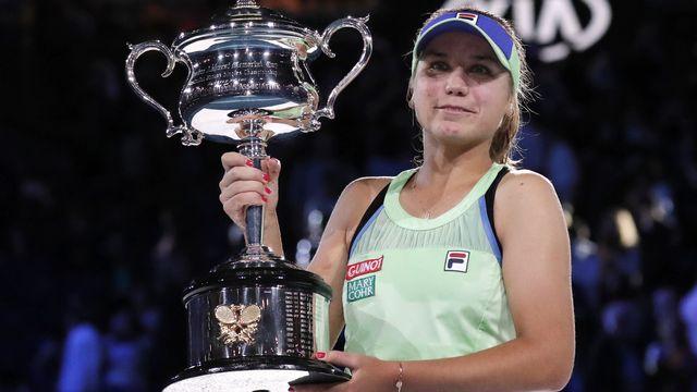 Sofia Kenin remporte l'Open d'Australie. [Lee Jin-man - AP Photo/ Keystone ]