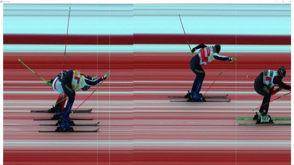 Megève (FRA), finale dames: victoire de Marielle Thompson (CAN) [RTS]