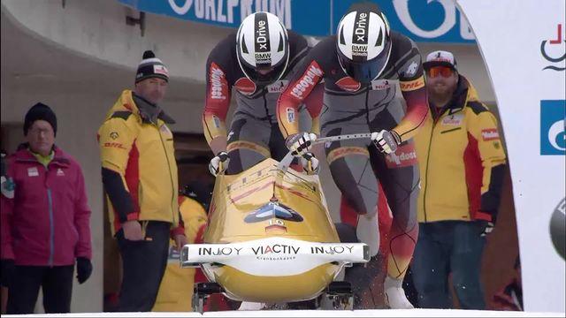 St. Moritz (SUI), bob à 2: victoire de la paire Lochner-Weber (ALL) [RTS]