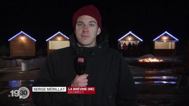 """Serge Mérillat: """"C'est le mois de janvier le plus doux depuis 1864"""" [RTS]"""