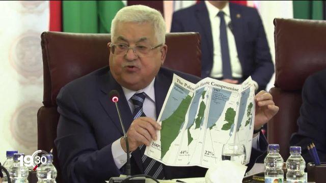 Les Palestiniens répondent au plan de paix américain et annoncent la rupture des relations avec les Etats-Unis et Israël. [RTS]