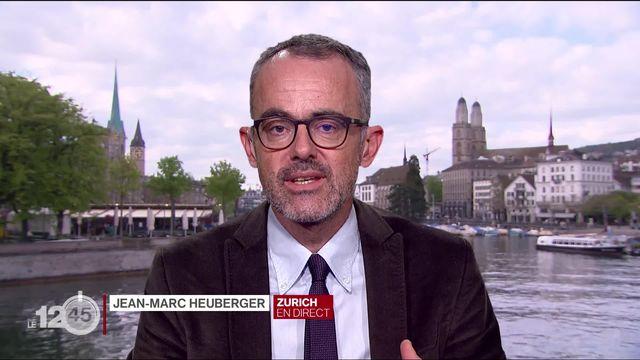 La revue de presse: Credit Suisse aurait espionné Greenpeace. Explications de Jean-Marc Heuberger [RTS]