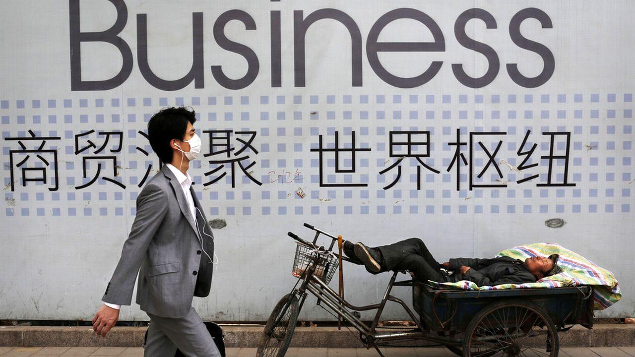 L'économie chinoise souffre de l'épidémie de coronavirus [Kevin Frayer - AP/Keystone]