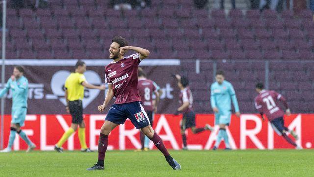 Sasso peut célébrer: nouveau cleant sheet et les 3 points pour le SFC [Martial Trezzini - Keystone]