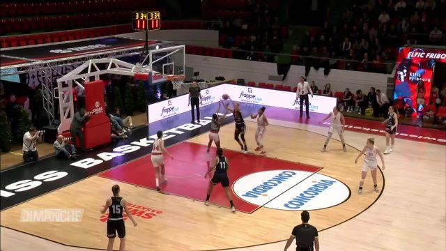 Basketball: Elfic Fribourg s'incline en finale de Coupe de la ligue face à Winterthour [RTS]