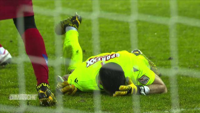 Football: le FC Sion fait le nul contre Zurich [RTS]