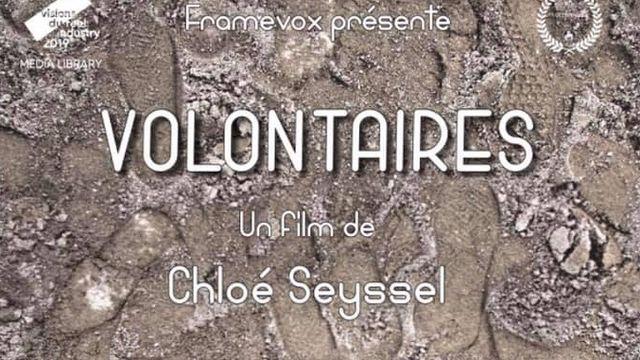 """L'affiche du film """"Volontaires"""" de Chloé Seyssel. [Framevox]"""
