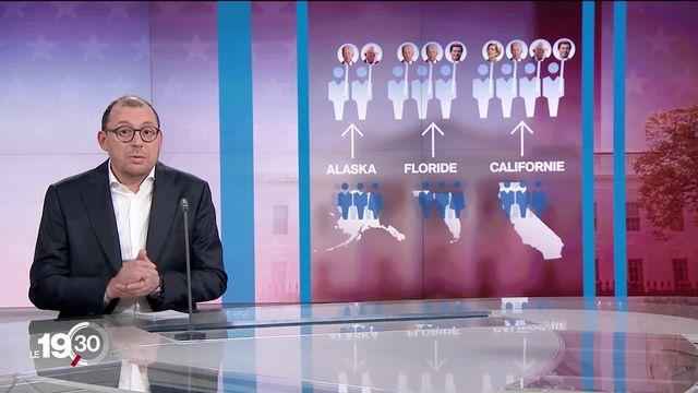 Didactique sur les primaires américaines, système de sélection redoutable, avec Antoine Silacci. [RTS]