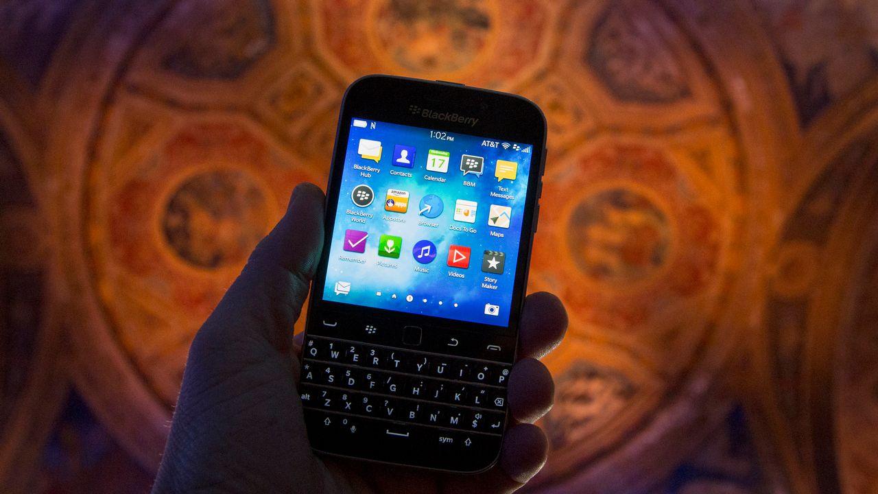 Le Blackberry Classic, lancé en décembre 2014 [Brendan McDermid - Reuters]
