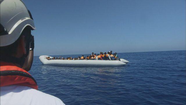 Aquarius : un bateau au secours des migrants [RTS]
