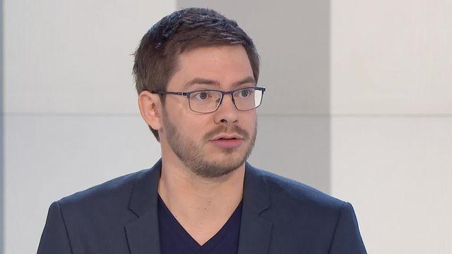 Yannick Rochat, chercheur en humanités numériques UNIL. [RTS]