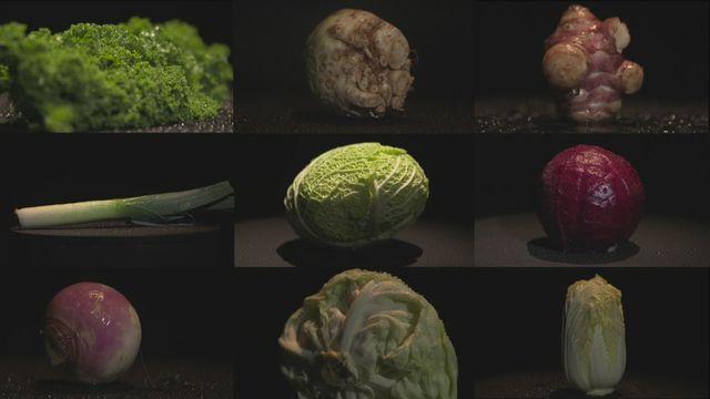 L'atout santé des légumes d'hiver [RTS]