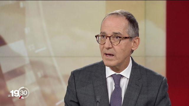 """François Savary: """"Les investisseurs considèrent qu'il n'y a pas de meilleure alternative actuellement que les marchés."""" [RTS]"""