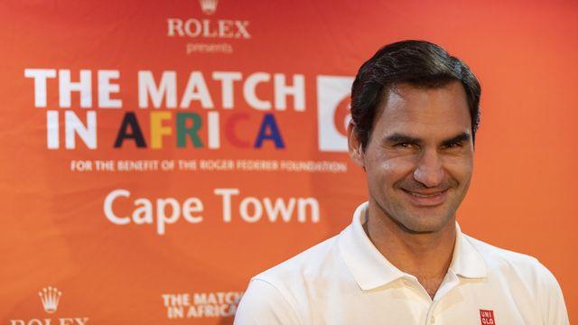 Roger Federer disputera vendredi un match face à Rafael Nadal. [Nic Bothma - Keystone]