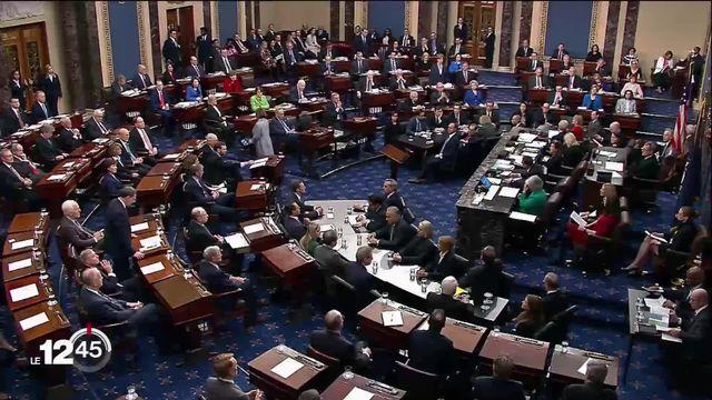 Sans surprise, Donald Trump a été acquitté par le Sénat américain dans l'affaire ukrainienne [RTS]