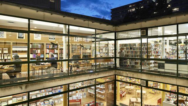 La bibliothèque de la Servette, l'une des bibliothèques municipales genevoises. [DR]