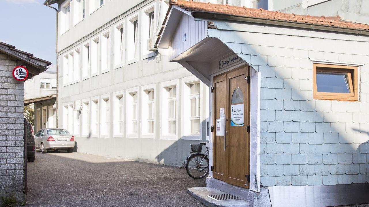 La mosquée Ar'Rahman de Bienne. [Peter Klaunzer - Keystone]