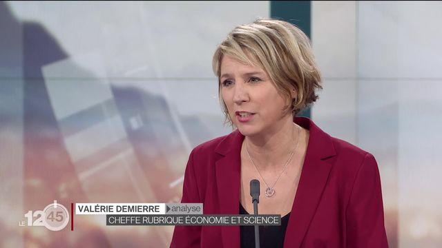 Valérie Demierre explique les raisons du départ de Tidjane Thiam [RTS]