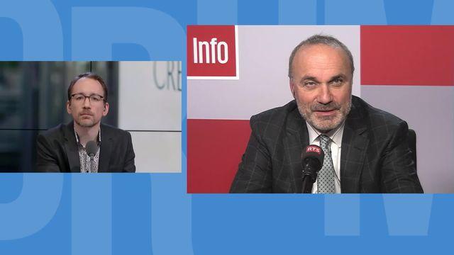 Le Suisse Thomas Gottstein remplacera Tidjane Thiam à la tête de Crédit Suisse [RTS]
