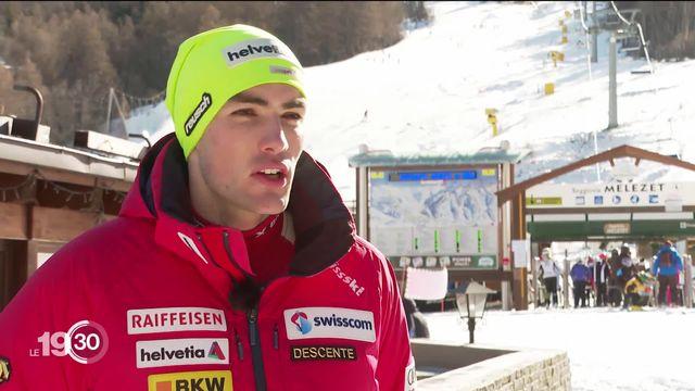 Avec ses trois victoires de prestige en janvier, Daniel Yule est devenu le meilleur slalomeur suisse de l'histoire. Portrait. [RTS]