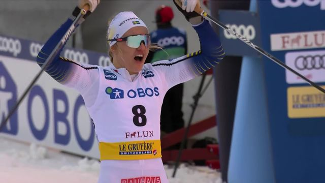 Falun (SWE), sprint dames: Linn Svahn s'impose devant son public [RTS]