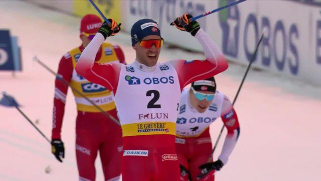 Falun (SWE), sprint messieurs: Paal Golberg (NOR) s'impose devant Valnes (NOR) et Bolshunov (RUS) [RTS]