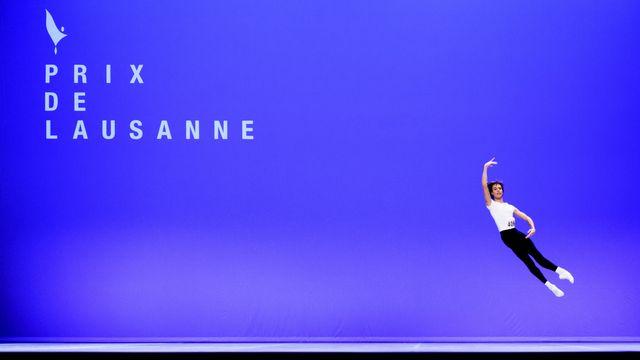 L'Italien Marco Masciari, lauréat du Prix de Lausanne 2020. [Laurent Gillieron - Keystone]