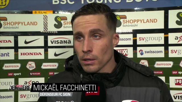 21e journée, Young Boys - Sion (1-0) : Interview de Mickaël Facchinetti [RTS]