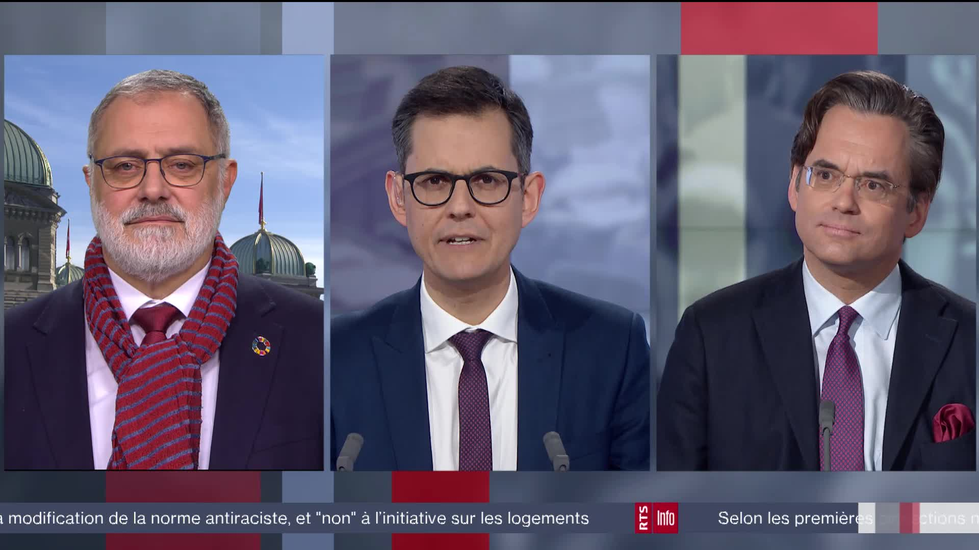 Réactions à l'initiative sur les loyers abordables: interview d'Olivier Feller et Carlo Sommaruga