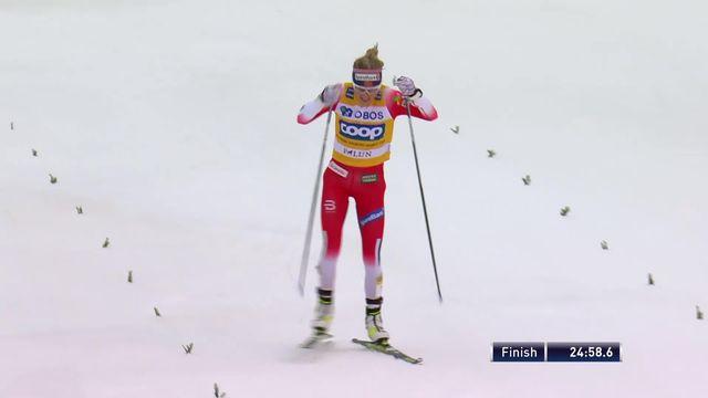 Falun (SUE), 15 km dames: victoire de Thérèse Johaug (NOR) [RTS]