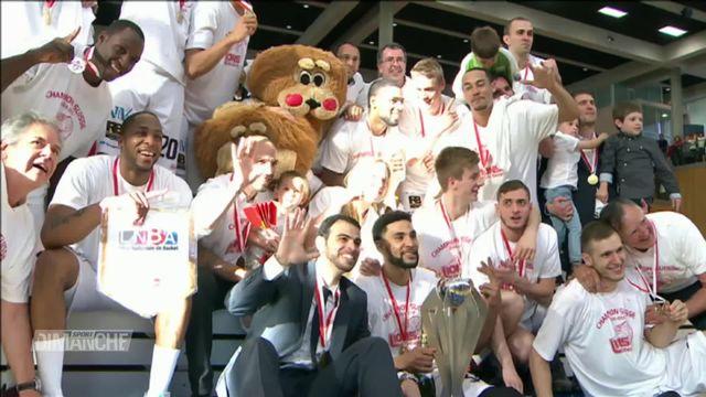 Basket ball: les Lions de Genève fêtent leur 10e anniversaire avec une victoire [RTS]