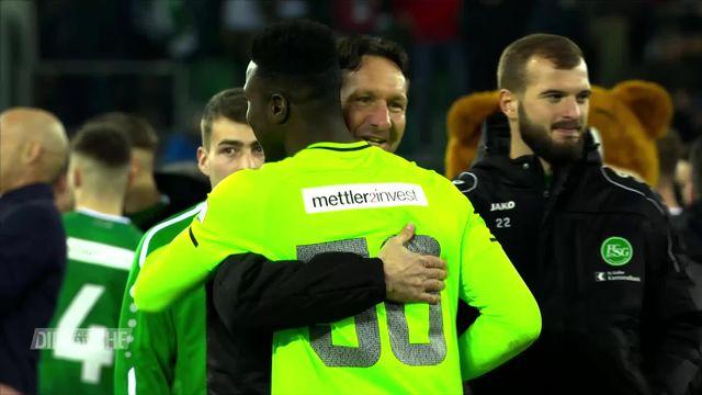 Super League , 21e journée: Saint-Gall - Servette (1-0) [RTS]