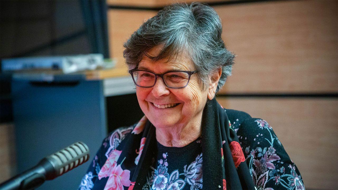 Ruth Dreifuss, présidente de la Commission globale de politique en matière de drogues. [Anne Kearney - RTS]