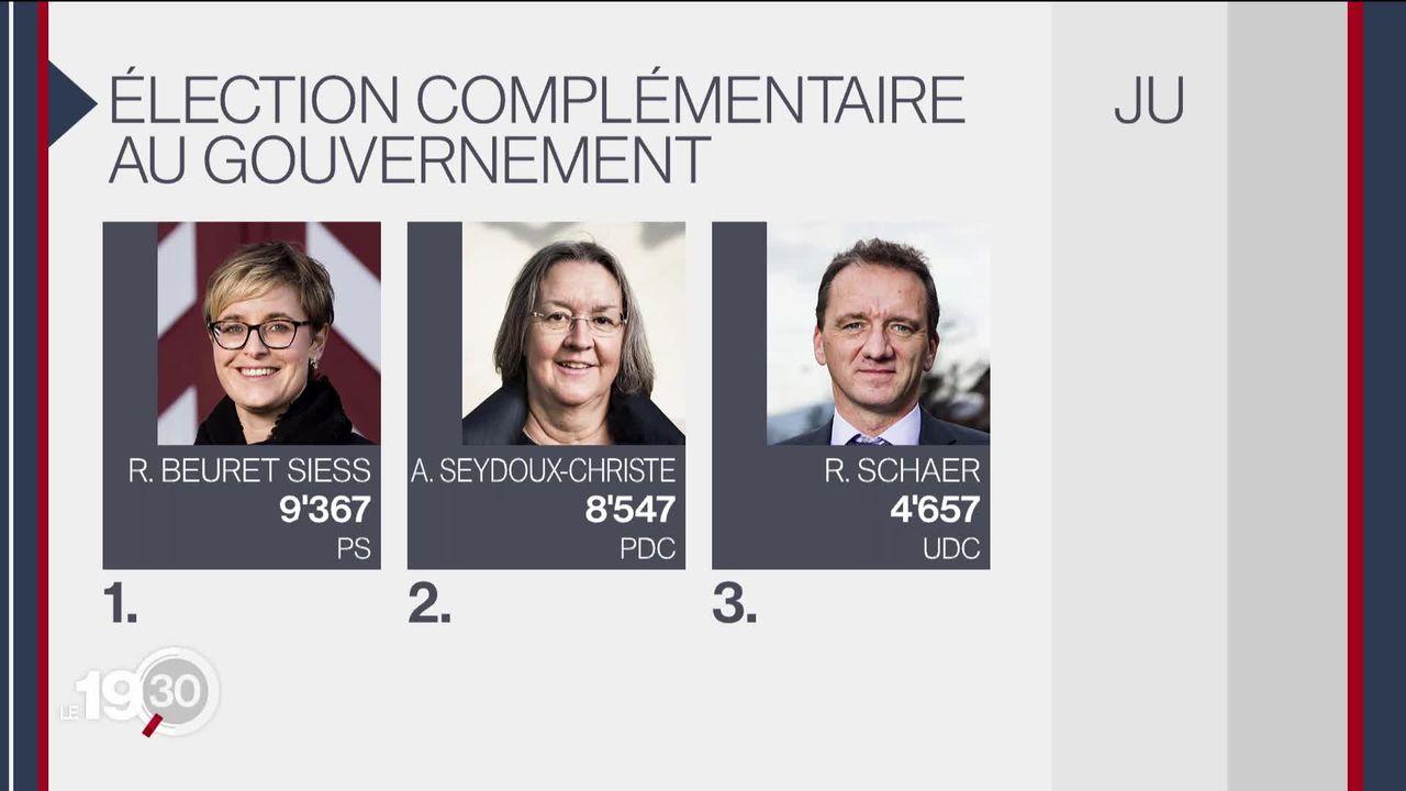 Ballotage général pour l'élection complémentaire au conseil d'État dans le Jura. [RTS]