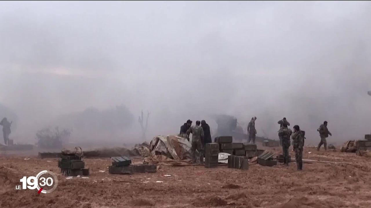 L'armée syrienne et son allié russe avancent sur Damas et Alep. Une reconquête contre les derniers djihadistes et opposants. [RTS]