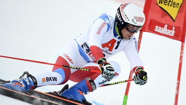 Les skieurs devront encore patienter avant de se tester à Saalbach. [Christian Bruna - Keystone]