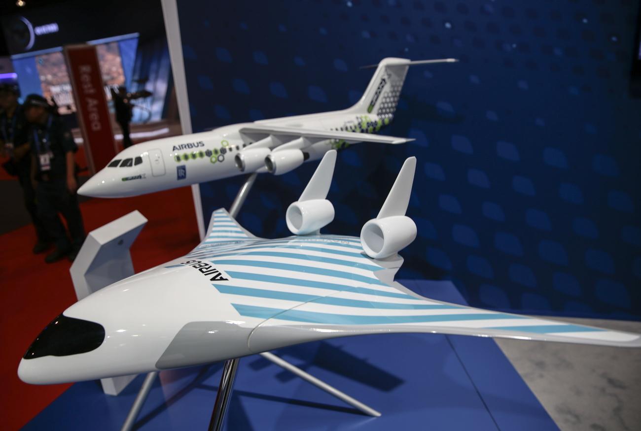 Airbus dévoile un projet d'avion du futur, plus écologique
