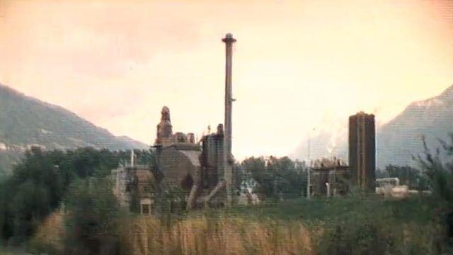 Les rejets de mercure de l'usine Lonza inquiète en 1979. [RTS]