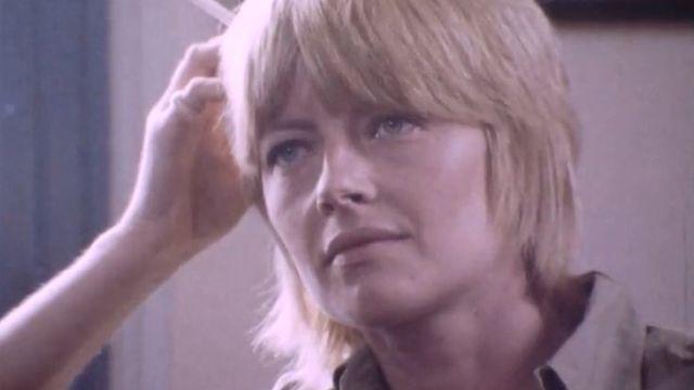La dessinatrice Claire Bretécher en 1977 [RTS]