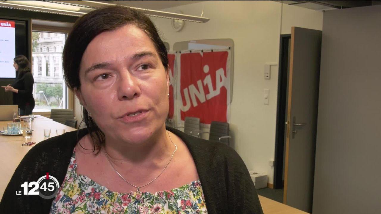 Les syndicats ont dénoncé ce matin les conditions de travail dans les usines Nespresso de Romont, Avenches et Orbe. [RTS]