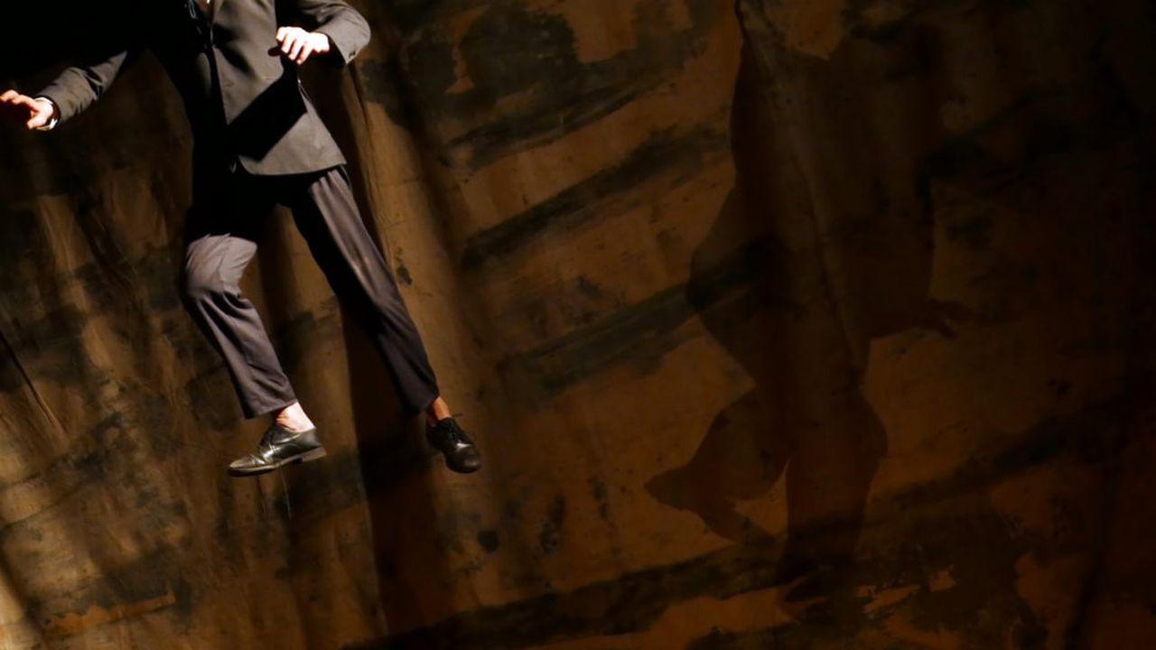 """Une scène du spectacle """"L'homme de plein vent"""". [Marguerite Bordat - tkm.ch]"""